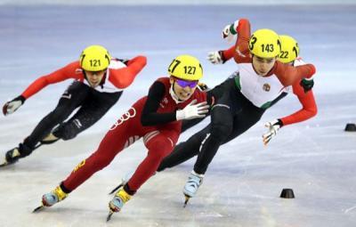 Корејската штафета постави олимписки рекорд во полуфиналето на  шорт трек