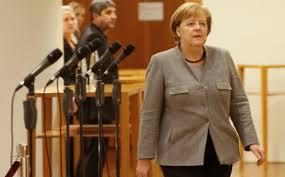 Позицијата на Меркел на стаклени нозе