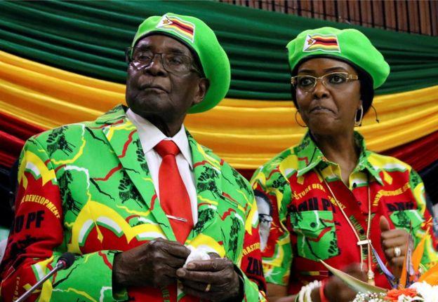 Мугабе конечно поднесе оставка
