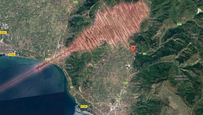 Слаб земјотрес во Охридско
