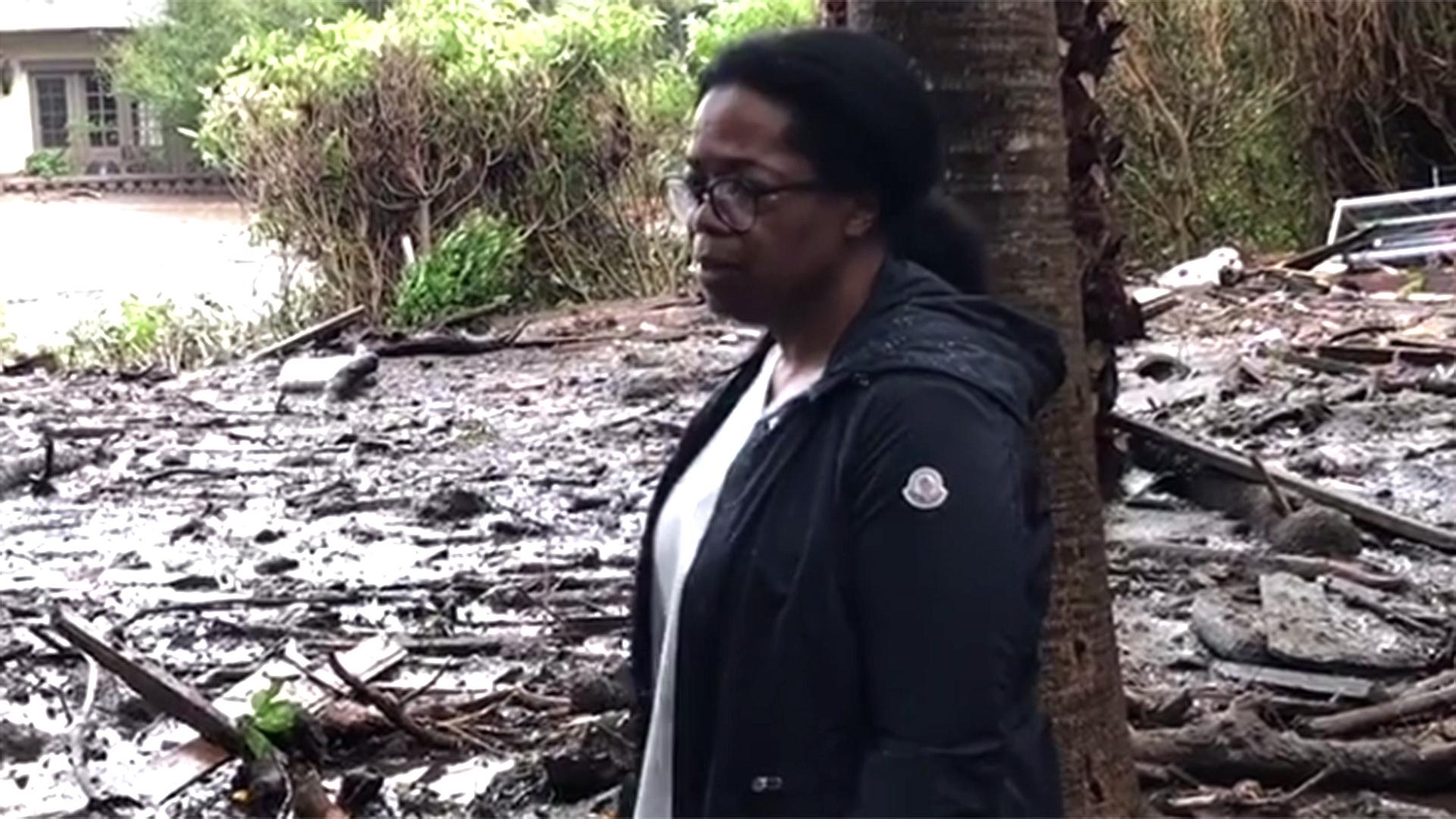Опра Винфри среде кал се прости од својот 50 милиони долари вреден имот