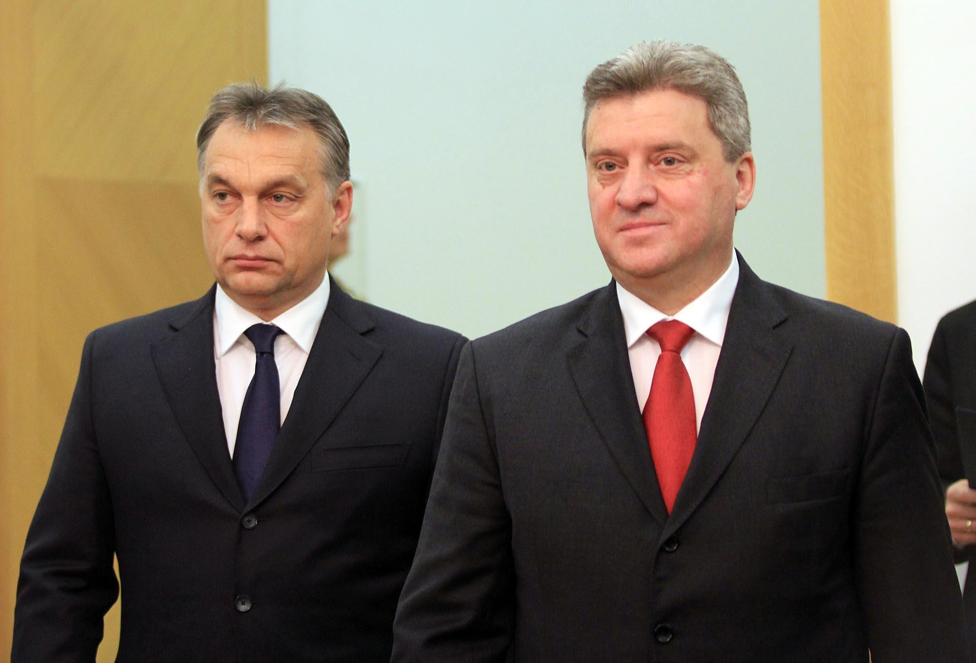 Иванов   Орбан  Неприфатливо е други држави да се мешаат во внатрешните работи на Македонија