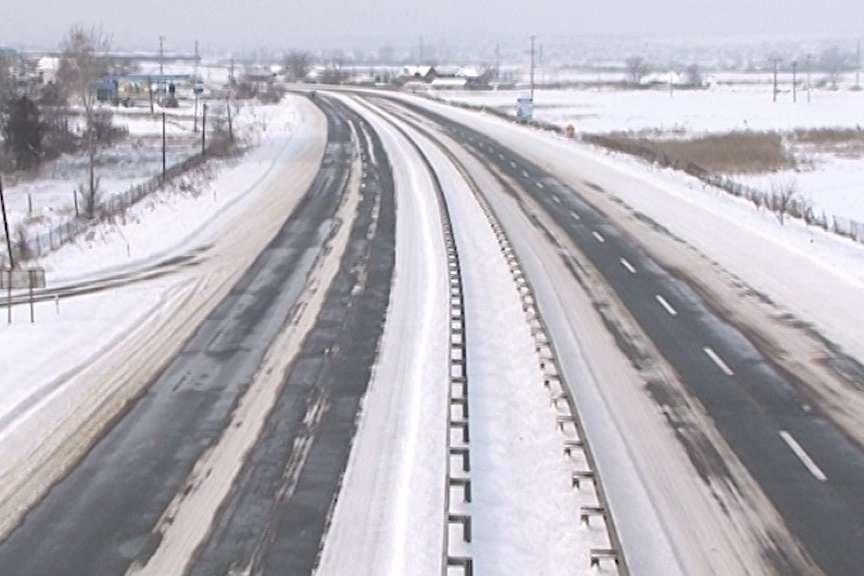 Сообраќајот во зимски услови  наместа можна појава на голомразица