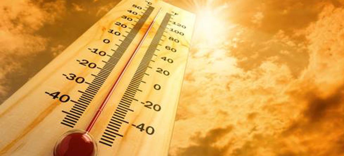 Сончево и многу топло  температура до 40