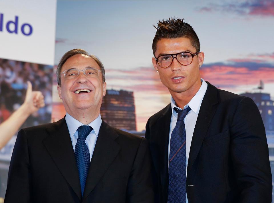 Првиот човек на Реал до Роналдо  Ако си одиш  ќе те замени Меси