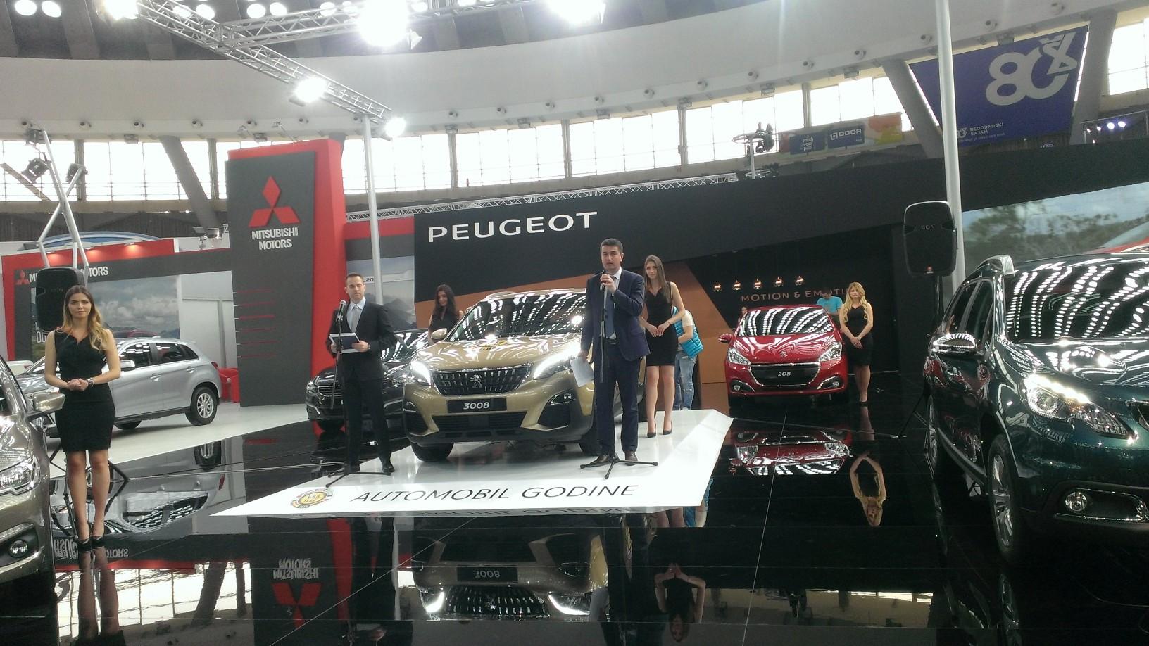 Еуроимпекс го претставува PEUGEOT на регионалниот саем за автомобили во Белград