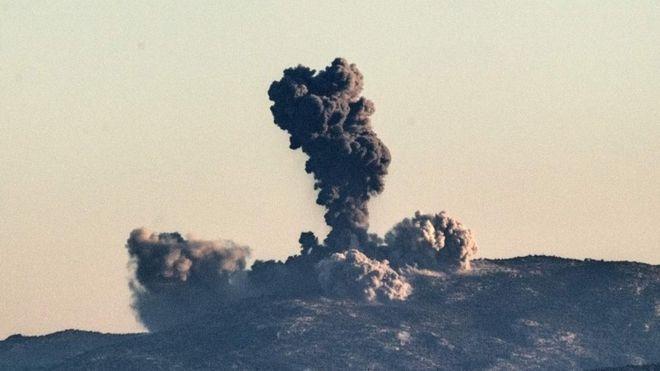 Турција почна воздушна офанзива во Сирија