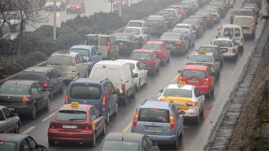 Град Скопје  Не планираме забрана за влез на моторни возила од други градови