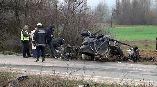Загина 19 годишно момче во сообраќајка на патот Радовиш Струмица