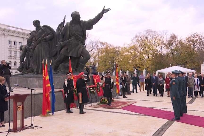 Скопје го одбележува денот на ослободувањето 13 ноември