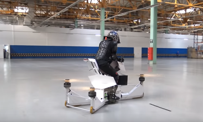 Русите го претставија првиот летечки мотоцикл