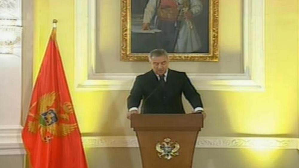 Ѓукановиќ ја положи претседателската заклетва