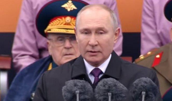 Спектакуларна воена парада во Москва, Путин со честитка за Денот на победата