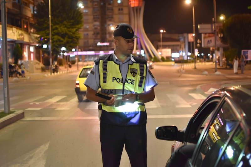 Санкционирани 158 возачи во Скопје, 59 за брзо возење