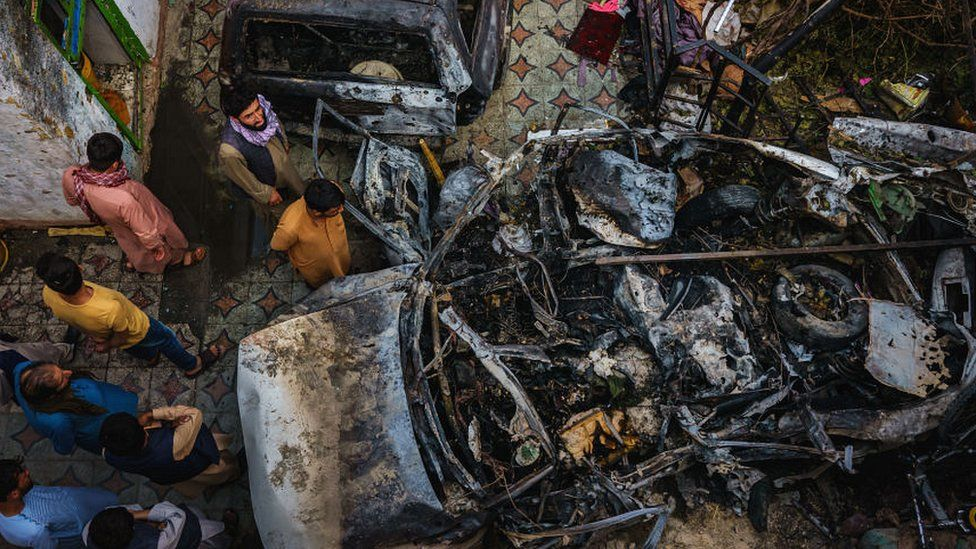 САД признаа дека во нападот со дрон во Кабул биле убиени 10 цивили , од кои седум деца