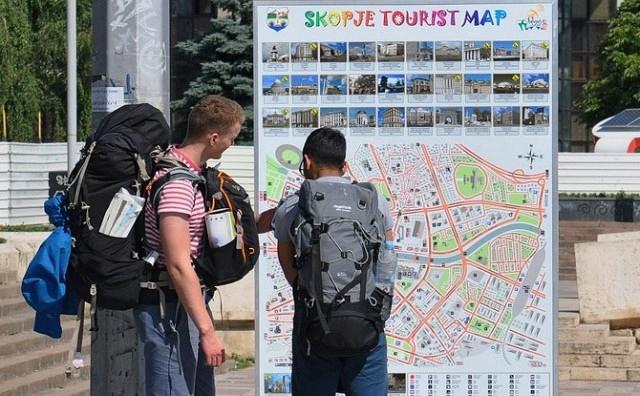 Во август евдентирани над 90 илјади странски туристи  најмногу од Турција