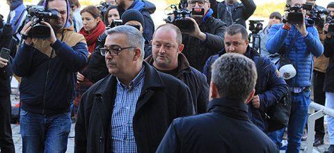 Триесетдневен притвор за Мукоски  Арнаудов и Василевски  куќен за Тарчуловски  Пешевска и Димовски
