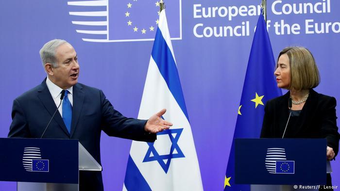 Нетанјаху  Европа да го следи примерот на Трамп