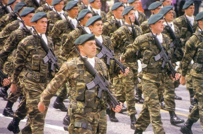 Македонската  воена закана  за Грција